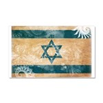 Israel Flag Car Magnet 20 x 12