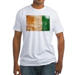 Ivory Coast Flag Fitted T-Shirt