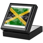 Jamaica Flag Keepsake Box