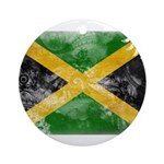 Jamaica Flag Ornament (Round)