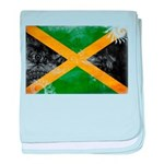 Jamaica Flag baby blanket