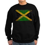 Jamaica Flag Sweatshirt (dark)