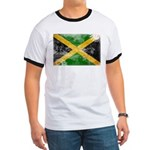 Jamaica Flag Ringer T