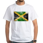 Jamaica Flag White T-Shirt