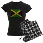 Jamaica Flag Women's Dark Pajamas