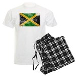 Jamaica Flag Men's Light Pajamas