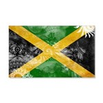 Jamaica Flag 22x14 Wall Peel
