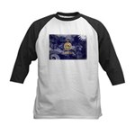 Kansas Flag Kids Baseball Jersey