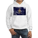 Kansas Flag Hooded Sweatshirt