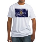 Kansas Flag Fitted T-Shirt