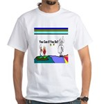 Comic You Can Do White T-Shirt