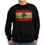 Lebanon Flag Sweatshirt (dark)