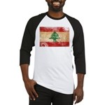 Lebanon Flag Baseball Jersey