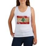 Lebanon Flag Women's Tank Top