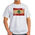 Lebanon Flag Light T-Shirt