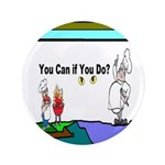 "Comic You Can Do 3.5"" Button"