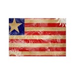 Liberia Flag Rectangle Magnet