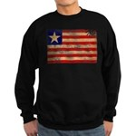 Liberia Flag Sweatshirt (dark)