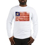 Liberia Flag Long Sleeve T-Shirt