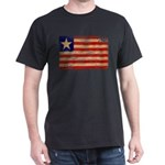 Liberia Flag Dark T-Shirt