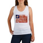 Liberia Flag Women's Tank Top