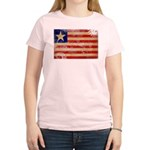 Liberia Flag Women's Light T-Shirt
