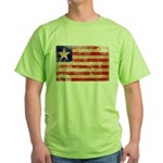Liberia Flag Green T-Shirt