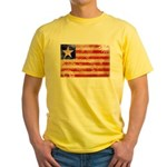 Liberia Flag Yellow T-Shirt