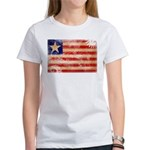 Liberia Flag Women's T-Shirt