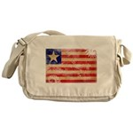 Liberia Flag Messenger Bag