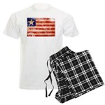 Liberia Flag Men's Light Pajamas