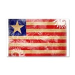 Liberia Flag Car Magnet 20 x 12