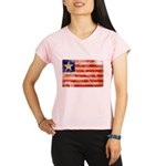 Liberia Flag Performance Dry T-Shirt