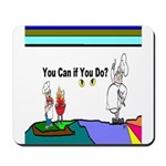 Comic You Can Do Mousepad