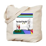 Comic You Can Do Tote Bag