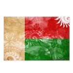 Madagascar Flag Postcards (Package of 8)