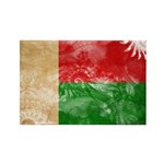 Madagascar Flag Rectangle Magnet