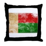 Madagascar Flag Throw Pillow