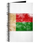 Madagascar Flag Journal