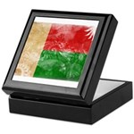 Madagascar Flag Keepsake Box