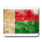 Madagascar Flag Mousepad