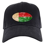 Madagascar Flag Black Cap