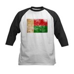 Madagascar Flag Kids Baseball Jersey