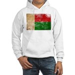 Madagascar Flag Hooded Sweatshirt