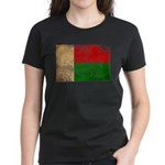 Madagascar Flag Women's Dark T-Shirt