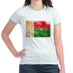 Madagascar Flag Jr. Ringer T-Shirt