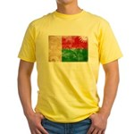 Madagascar Flag Yellow T-Shirt