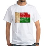 Madagascar Flag White T-Shirt