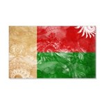 Madagascar Flag 22x14 Wall Peel