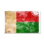 Madagascar Flag Car Magnet 20 x 12